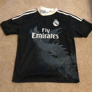 Real Madrid James Soccer Jersey